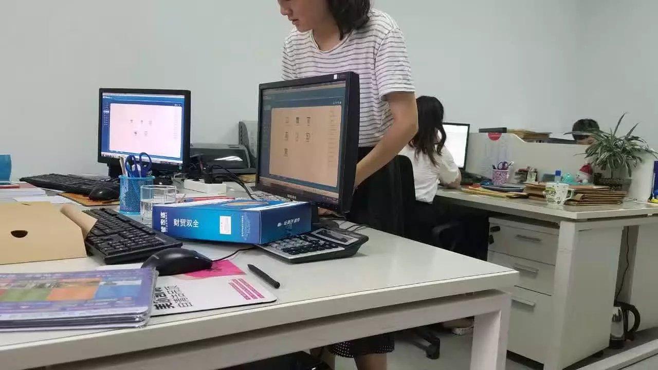 嘉保信装饰采用管家婆软件财贸双全网络版管理系统